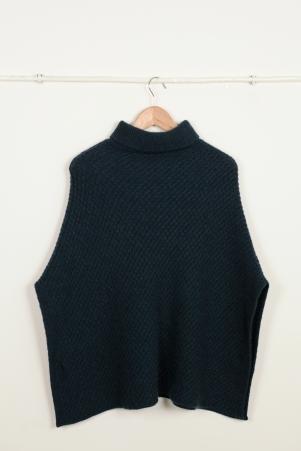 SABRINA Wool Cape