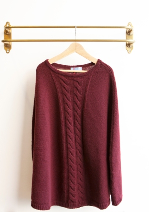 ADELINA Wool Cape