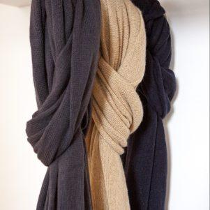 OLGA cashmere scarf
